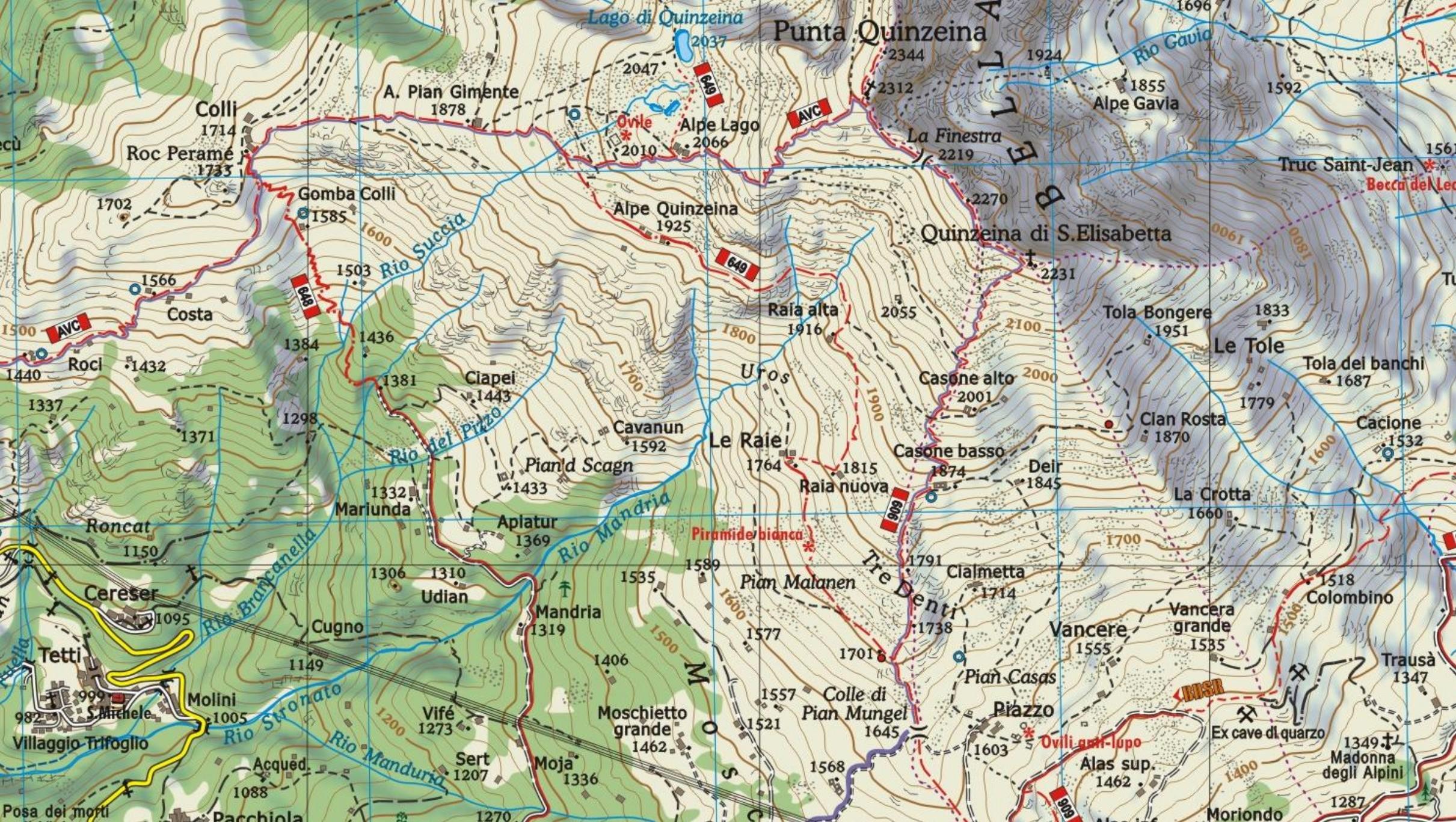 Bardonecchia Cartina Geografica.04 Carta Della Valle Sacra Mu Edizioni Carte Geografiche Per Escursionismo